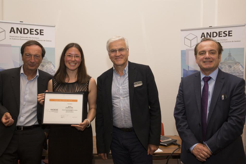 Prix de thèse ANDESE : Milena Klasing Chen
