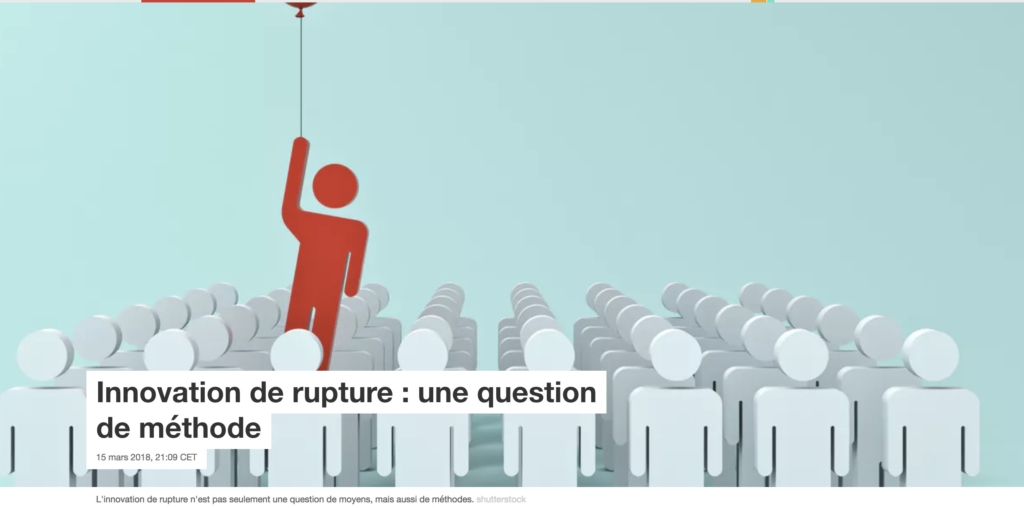 IMage Innoavation de rupture Chaire TMCI